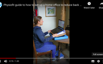 Reducing Neck and Back Pain Whilst Working From Home